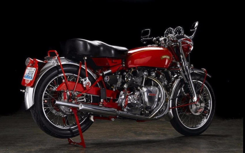 Vincent Series 'C' White Shadow sold for RM1.75 mil Image #467843