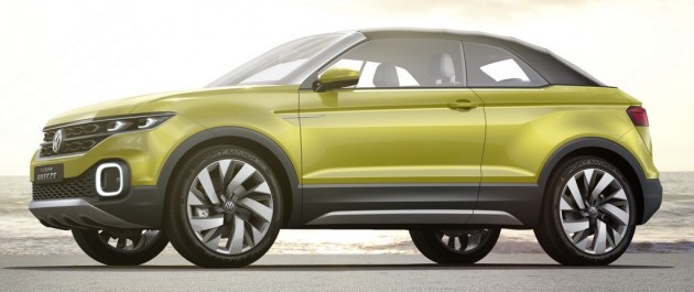 Vw To Launch Small Suv By End 2018 A Captur Rival