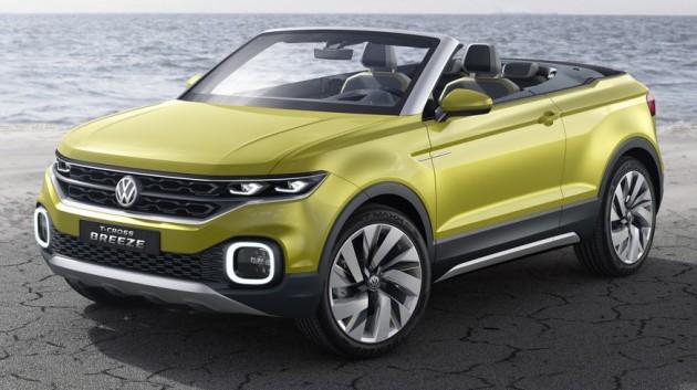 Volkswagen T-Cross Breeze Concept-3