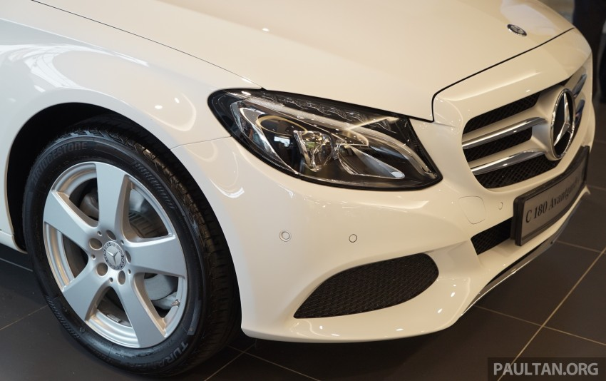 GALLERY: W205 Mercedes-Benz C180 Avantgarde and C300 AMG Line in Malaysian showroom, from RM229k Image #460793