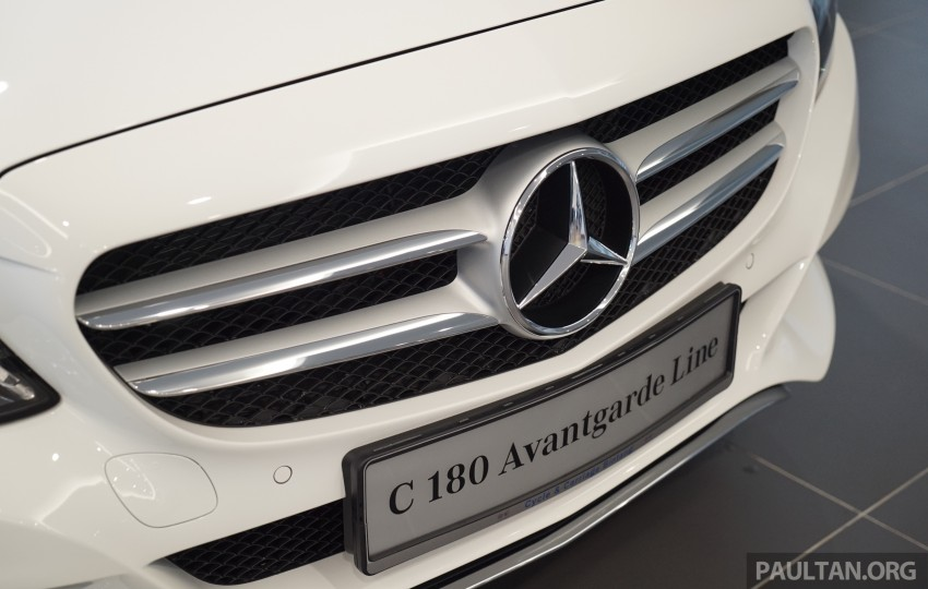 GALLERY: W205 Mercedes-Benz C180 Avantgarde and C300 AMG Line in Malaysian showroom, from RM229k Image #460795