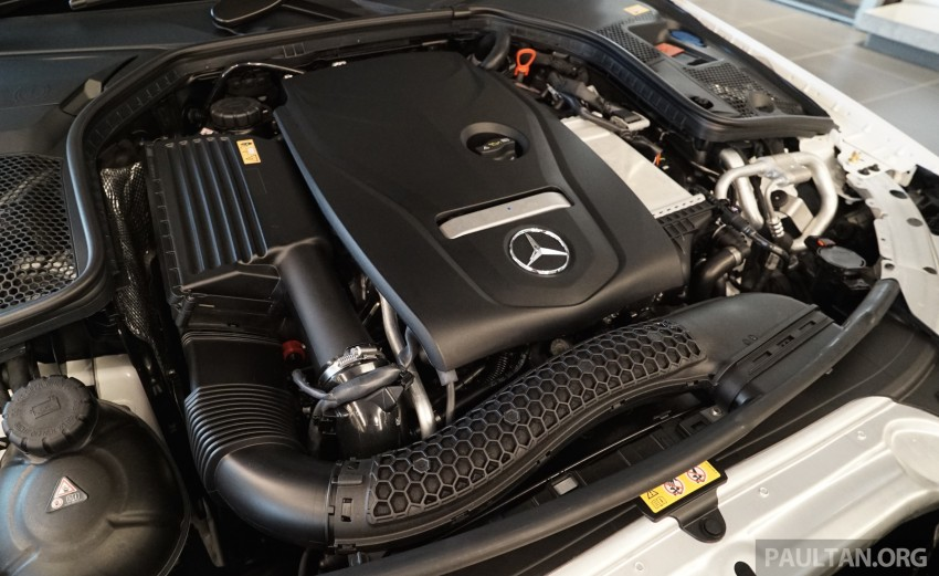GALLERY: W205 Mercedes-Benz C180 Avantgarde and C300 AMG Line in Malaysian showroom, from RM229k Image #460806