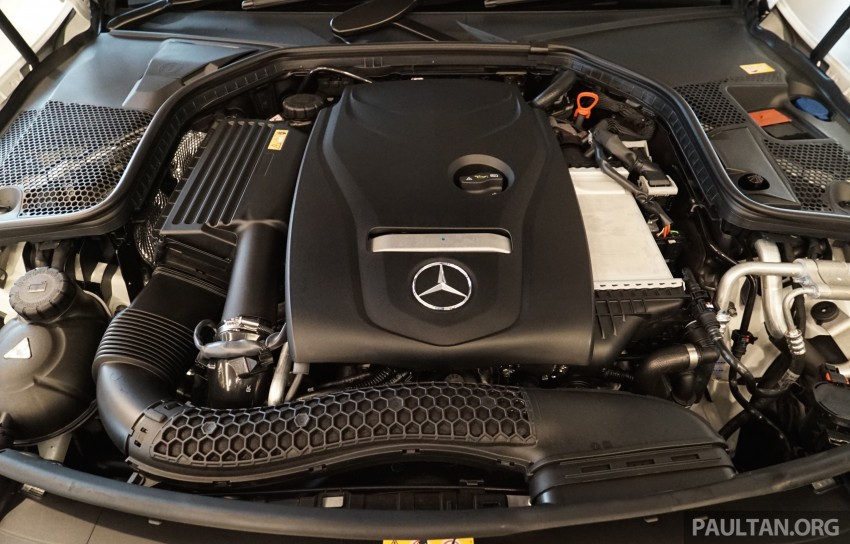 GALLERY: W205 Mercedes-Benz C180 Avantgarde and C300 AMG Line in Malaysian showroom, from RM229k Image #460807
