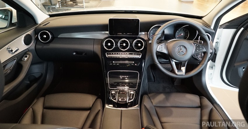 GALLERY: W205 Mercedes-Benz C180 Avantgarde and C300 AMG Line in Malaysian showroom, from RM229k Image #460812