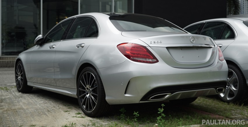 GALLERY: W205 Mercedes-Benz C180 Avantgarde and C300 AMG Line in Malaysian showroom, from RM229k Image #460828