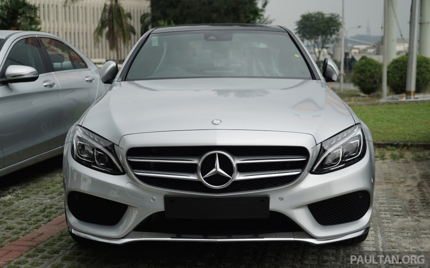 GALLERY: W205 Mercedes-Benz C180 Avantgarde and C300 AMG Line in Malaysian showroom, from RM229k Image #460829