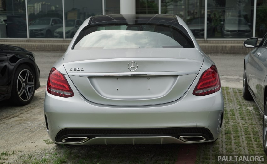 GALLERY: W205 Mercedes-Benz C180 Avantgarde and C300 AMG Line in Malaysian showroom, from RM229k Image #460830