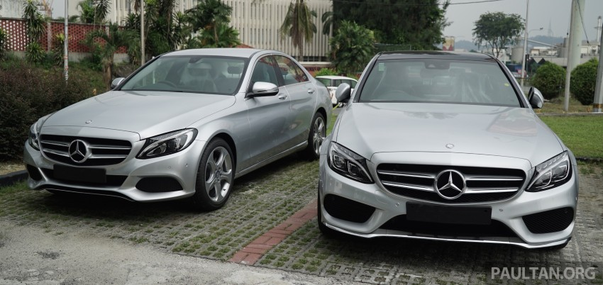 GALLERY: W205 Mercedes-Benz C180 Avantgarde and C300 AMG Line in Malaysian showroom, from RM229k Image #460831