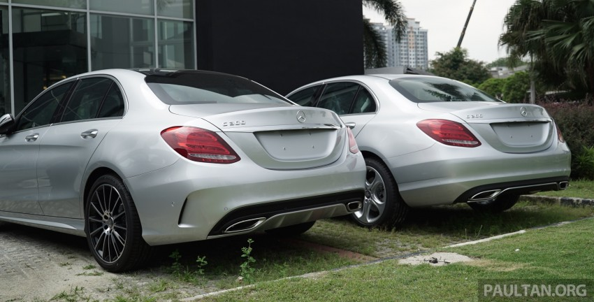 GALLERY: W205 Mercedes-Benz C180 Avantgarde and C300 AMG Line in Malaysian showroom, from RM229k Image #460834