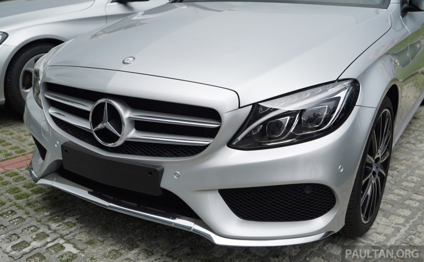 GALLERY: W205 Mercedes-Benz C180 Avantgarde and C300 AMG Line in Malaysian showroom, from RM229k Image #460835