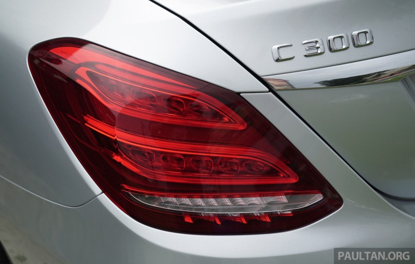 GALLERY: W205 Mercedes-Benz C180 Avantgarde and C300 AMG Line in Malaysian showroom, from RM229k Image #460845