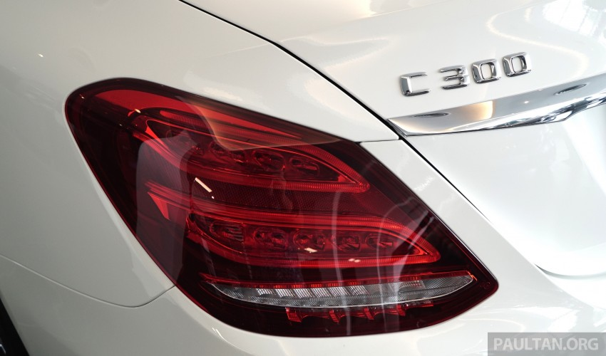 GALLERY: W205 Mercedes-Benz C180 Avantgarde and C300 AMG Line in Malaysian showroom, from RM229k Image #462994
