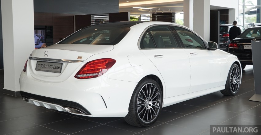 GALLERY: W205 Mercedes-Benz C180 Avantgarde and C300 AMG Line in Malaysian showroom, from RM229k Image #462996