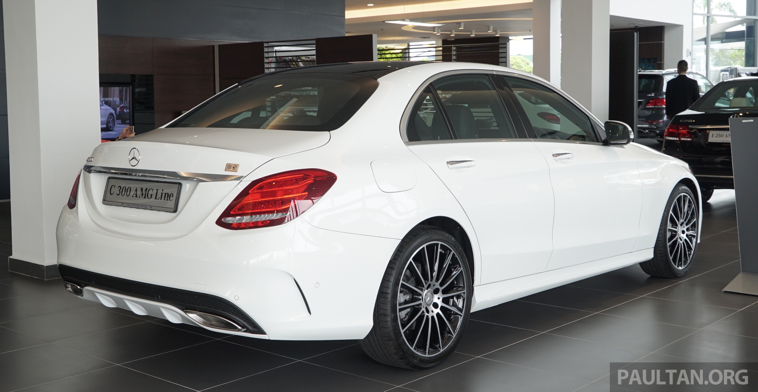 gallery w205 mercedes benz c180 avantgarde and c300 amg