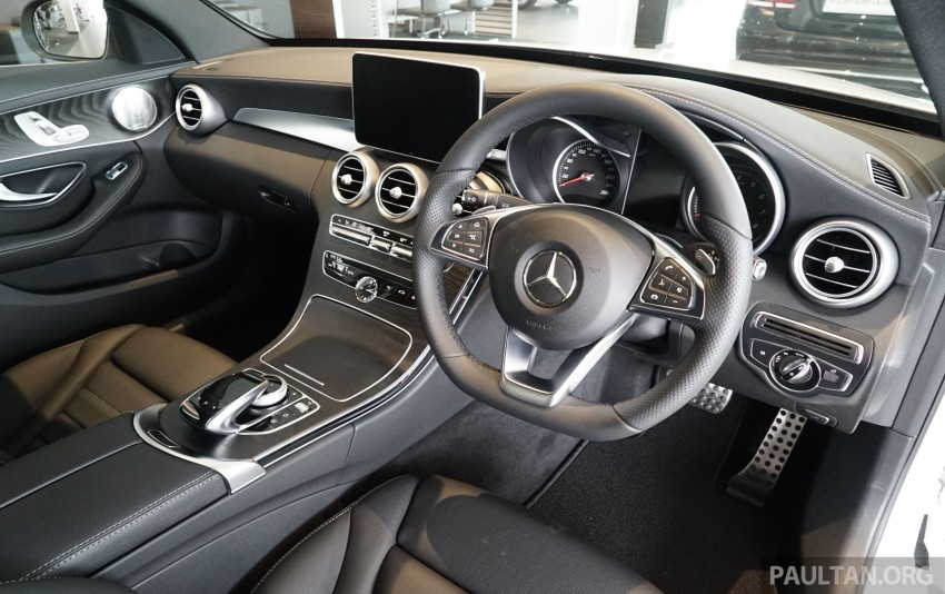 GALLERY: W205 Mercedes-Benz C180 Avantgarde and C300 AMG Line in Malaysian showroom, from RM229k Image #462998
