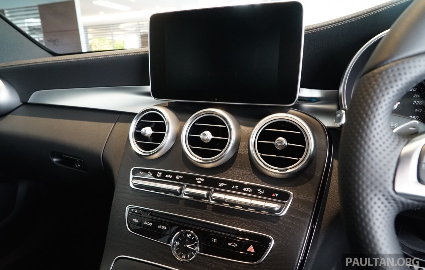 GALLERY: W205 Mercedes-Benz C180 Avantgarde and C300 AMG Line in Malaysian showroom, from RM229k Image #462999