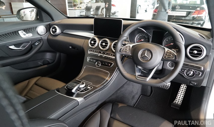 GALLERY: W205 Mercedes-Benz C180 Avantgarde and C300 AMG Line in Malaysian showroom, from RM229k Image #463010