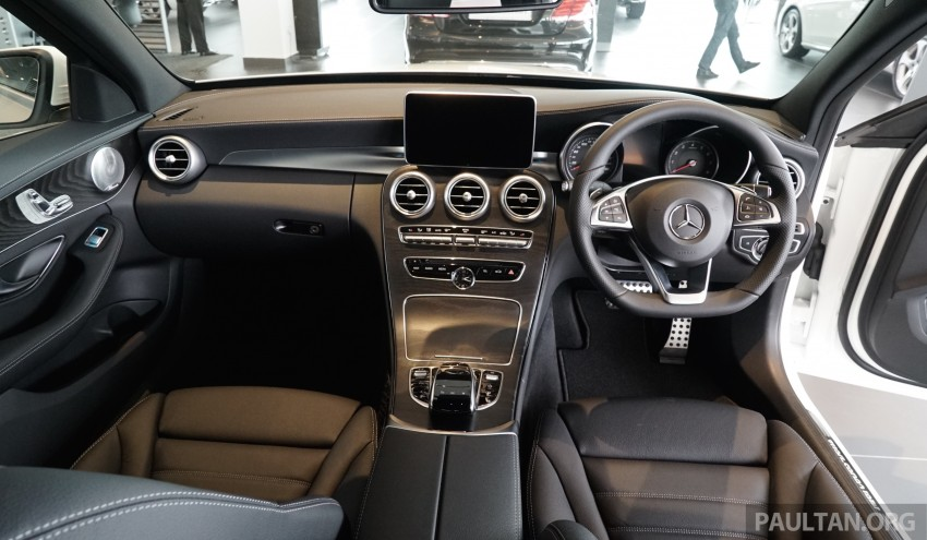 GALLERY: W205 Mercedes-Benz C180 Avantgarde and C300 AMG Line in Malaysian showroom, from RM229k Image #463015