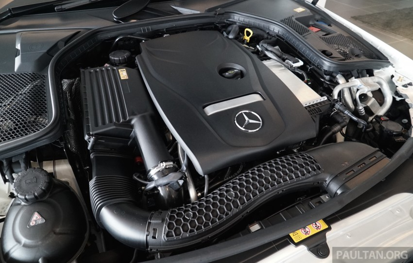 GALLERY: W205 Mercedes-Benz C180 Avantgarde and C300 AMG Line in Malaysian showroom, from RM229k Image #463022