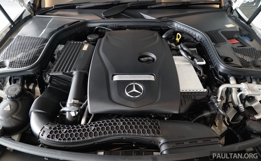 GALLERY: W205 Mercedes-Benz C180 Avantgarde and C300 AMG Line in Malaysian showroom, from RM229k Image #463025