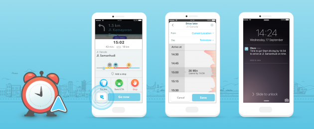 Waze Planned Drives_All iOS Screens