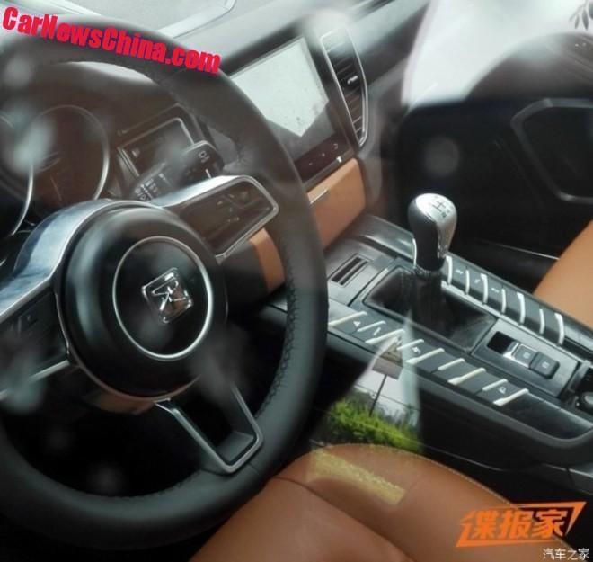 Zotye SR8 – Porsche Macan clone with same interior Image #459902
