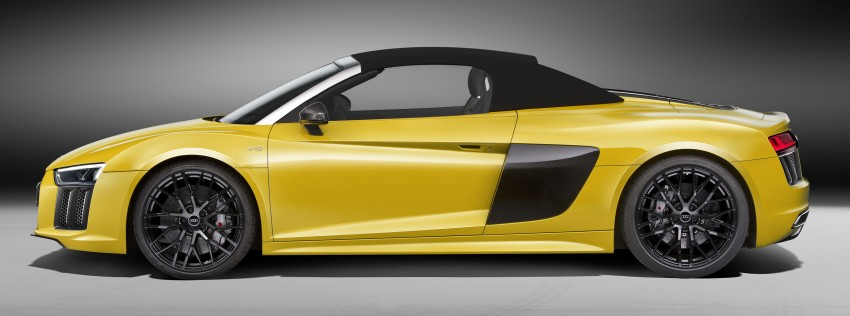 Audi R8 Spyder V10 debuts at New York Auto Show Image #465520