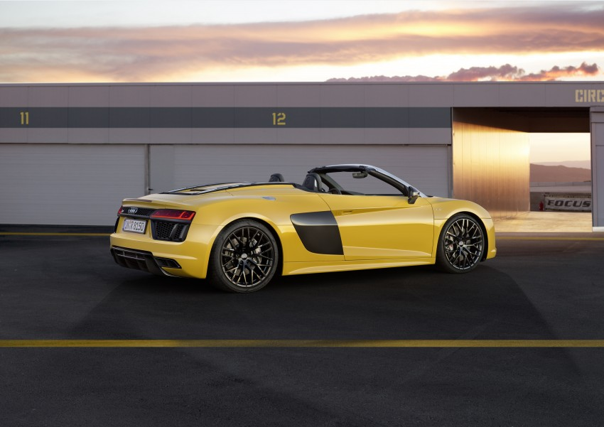 Audi R8 Spyder V10 debuts at New York Auto Show Image #465531