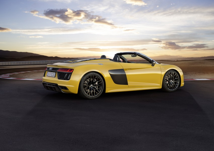 Audi R8 Spyder V10 debuts at New York Auto Show Image #465532