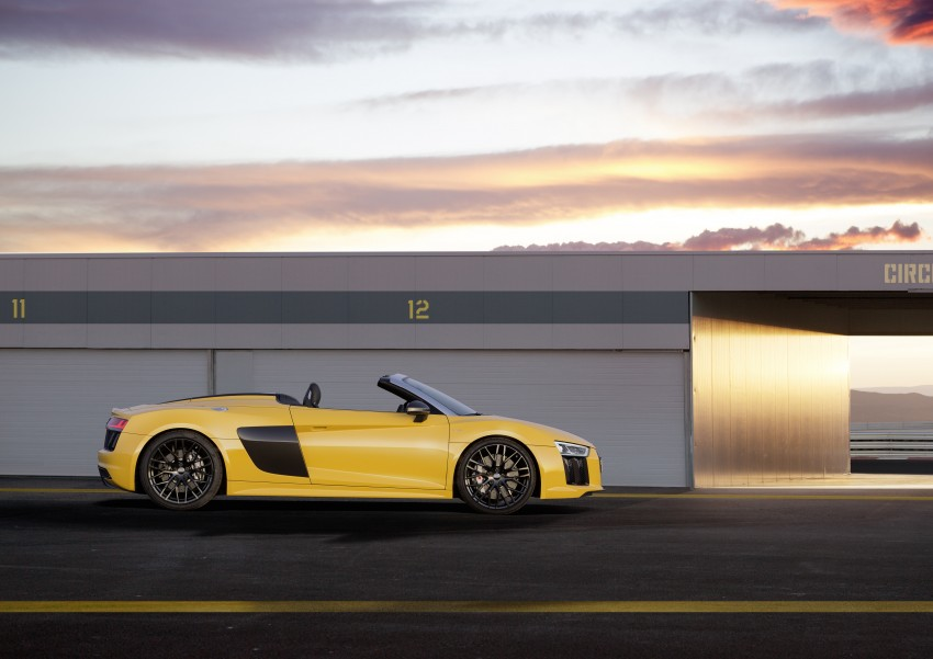 Audi R8 Spyder V10 debuts at New York Auto Show Image #465533