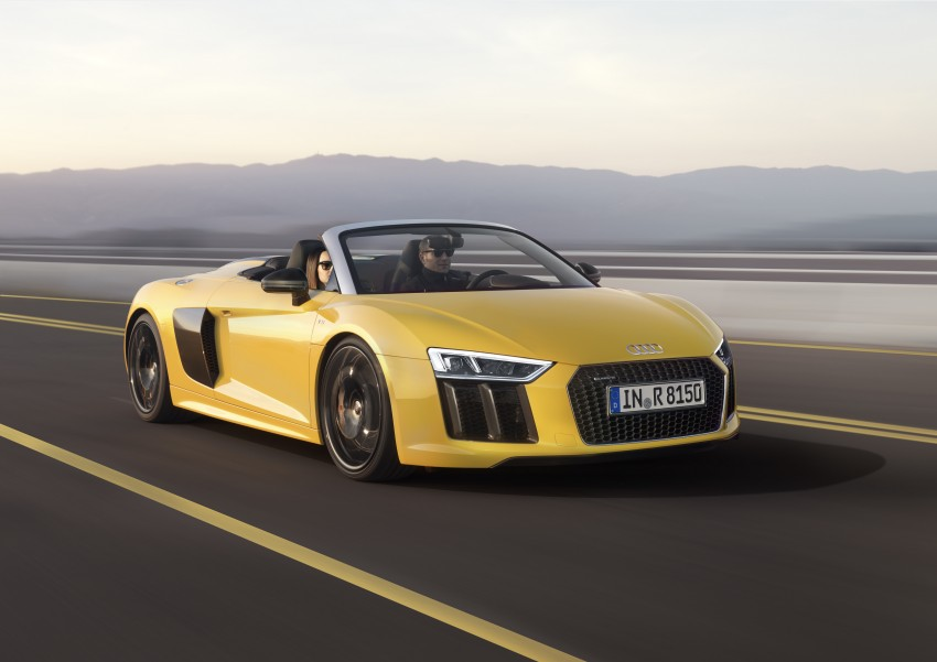 Audi R8 Spyder V10 debuts at New York Auto Show Image #465535