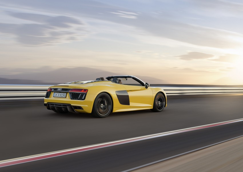 Audi R8 Spyder V10 debuts at New York Auto Show Image #465536