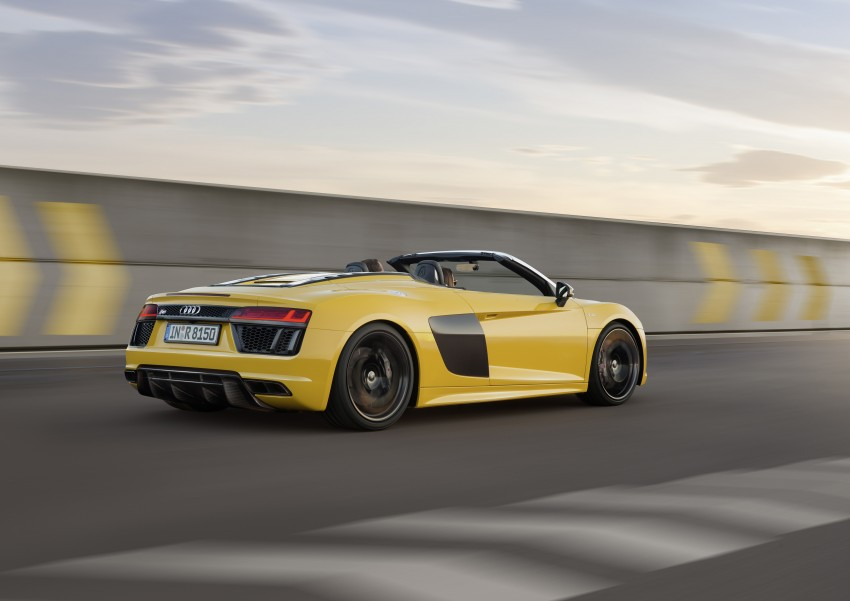 Audi R8 Spyder V10 debuts at New York Auto Show Image #465537
