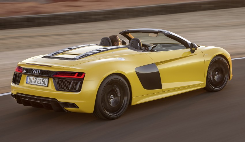 Audi R8 Spyder V10 debuts at New York Auto Show Image #465538
