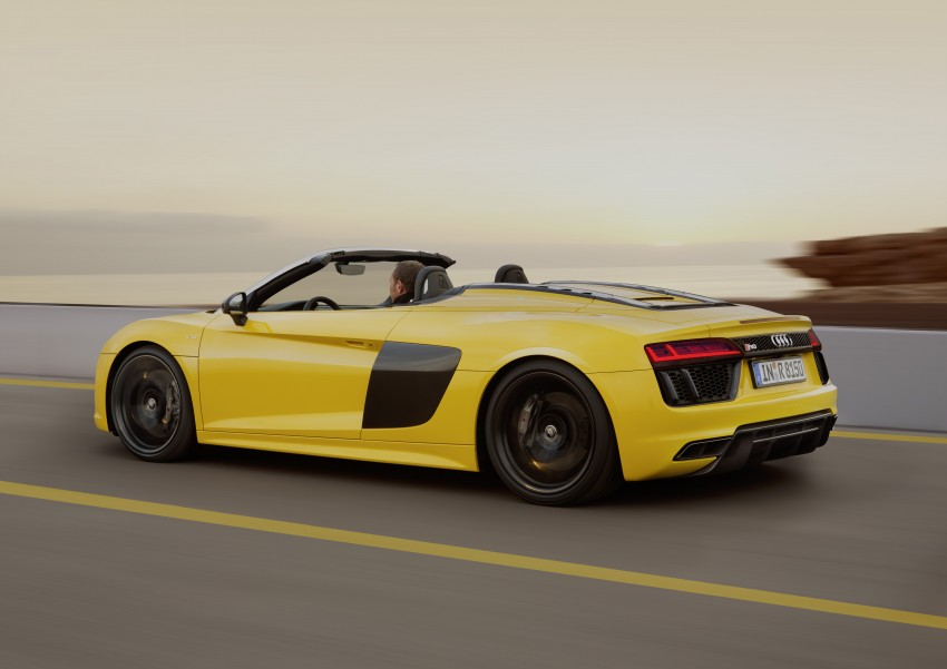 Audi R8 Spyder V10 debuts at New York Auto Show Image #465546