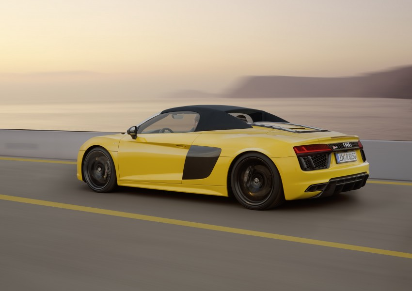 Audi R8 Spyder V10 debuts at New York Auto Show Image #465548