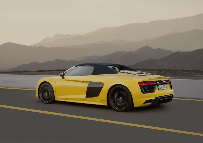 Audi R8 Spyder V10 debuts at New York Auto Show Image #465549