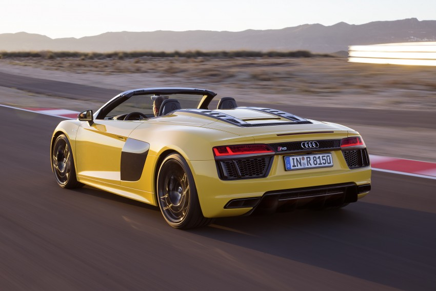 Audi R8 Spyder V10 debuts at New York Auto Show Image #465550