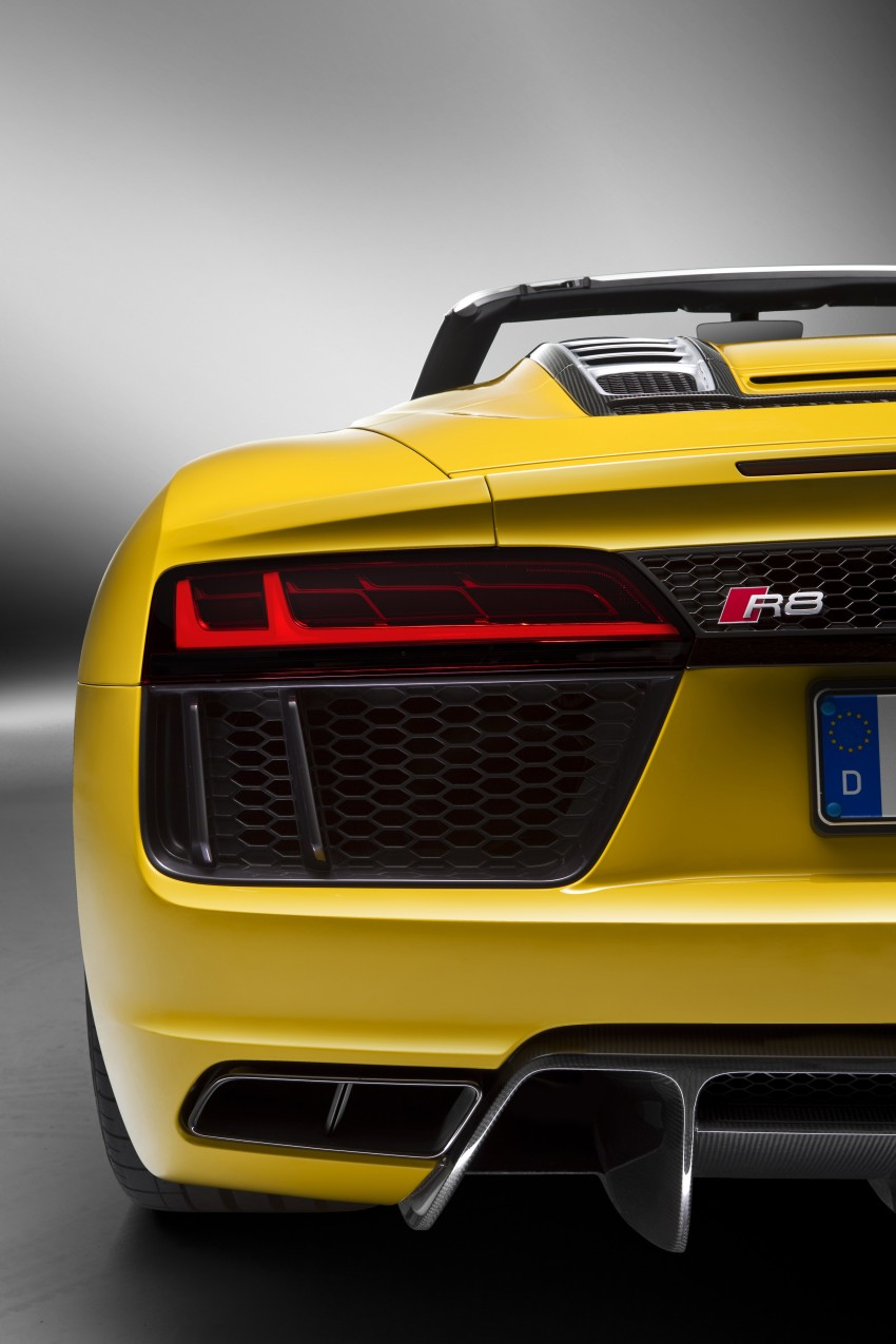 Audi R8 Spyder V10 debuts at New York Auto Show Image #465563
