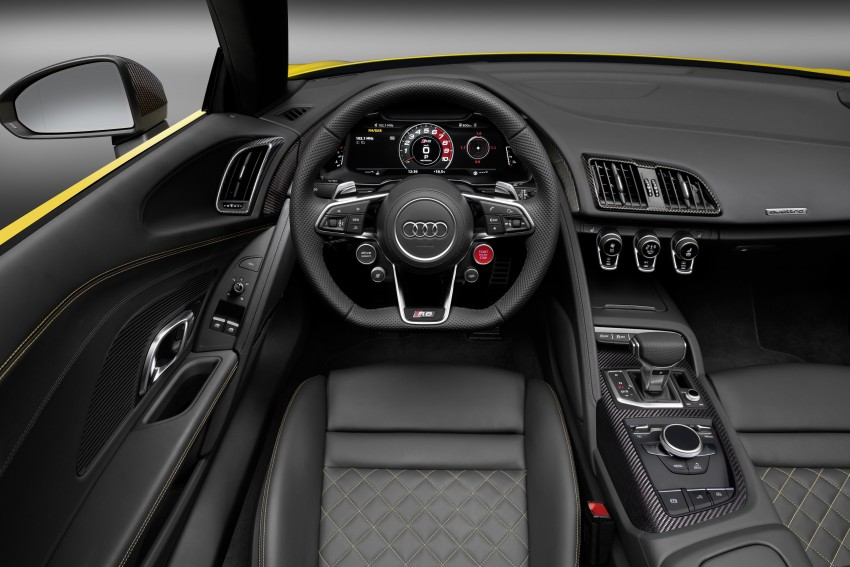 Audi R8 Spyder V10 debuts at New York Auto Show Image #465565