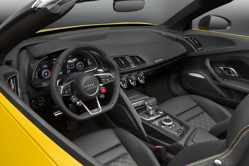 Audi R8 Spyder V10 debuts at New York Auto Show Image #465566