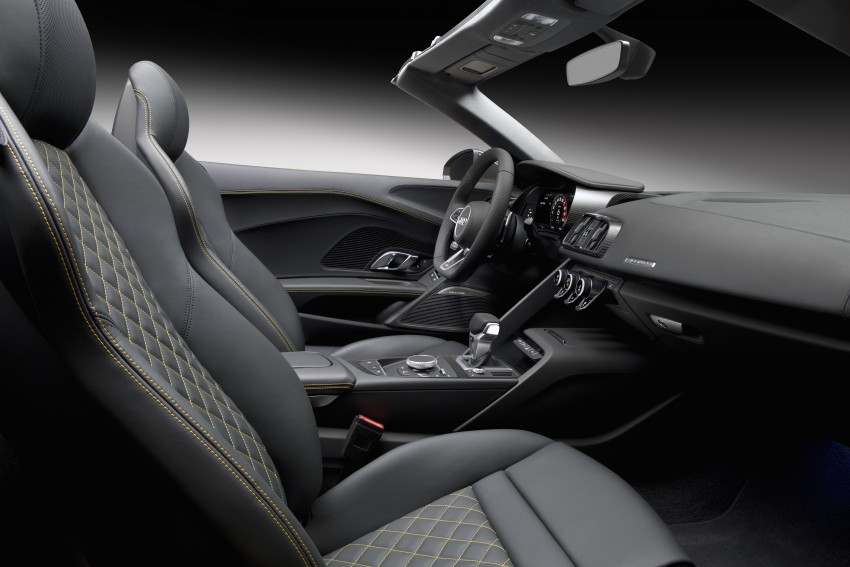 Audi R8 Spyder V10 debuts at New York Auto Show Image #465568