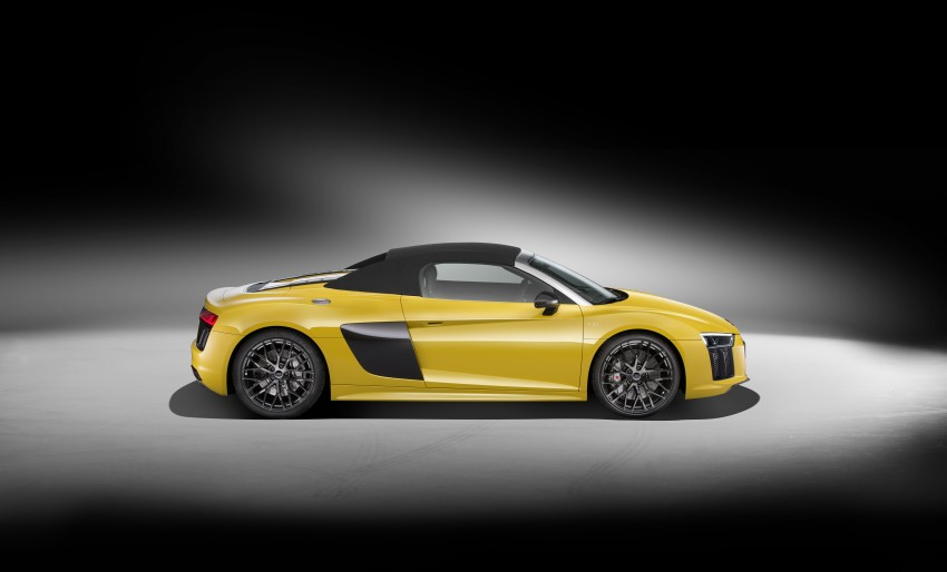 Audi R8 Spyder V10 debuts at New York Auto Show Image #465523
