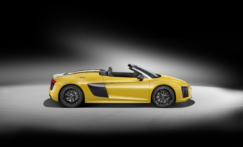 Audi R8 Spyder V10 debuts at New York Auto Show Image #465524