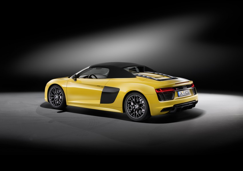 Audi R8 Spyder V10 debuts at New York Auto Show Image #465525