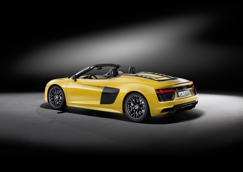 Audi R8 Spyder V10 debuts at New York Auto Show Image #465526