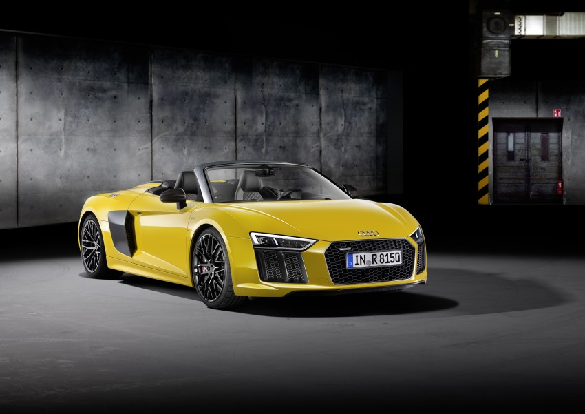 Audi R8 Spyder V10 debuts at New York Auto Show Image #465528