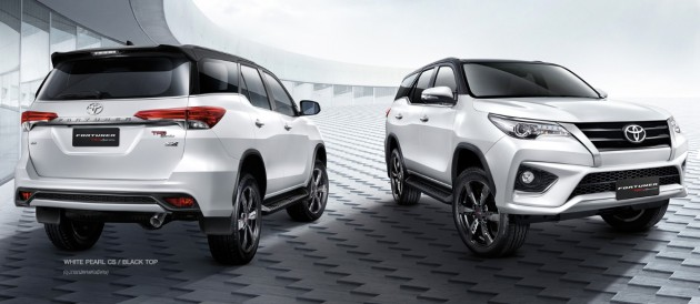 toyota fortuner trd sportivo launched in thailand