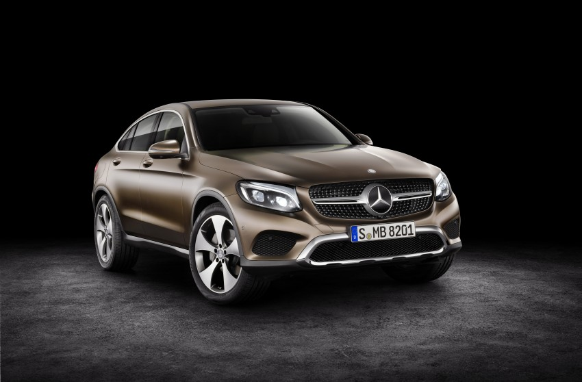 Mercedes-Benz GLC Coupe breaks cover in New York Image #464743