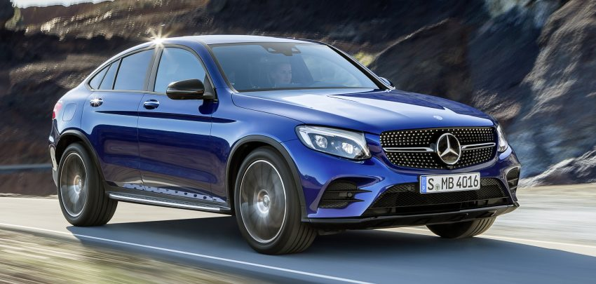 Mercedes-Benz GLC Coupe breaks cover in New York Image #464753